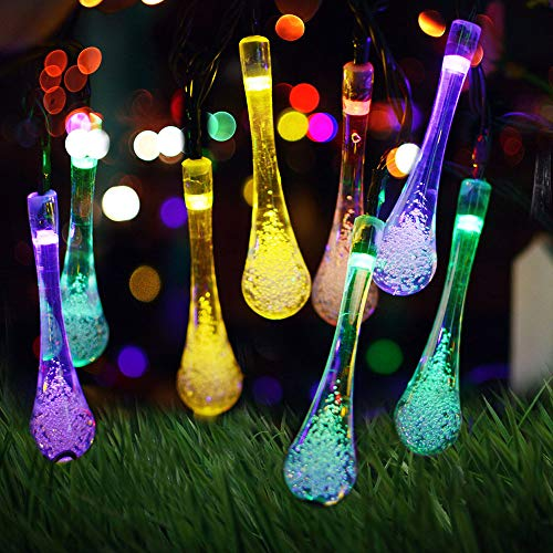 Teardrop Outdoor String Lights in US - 4