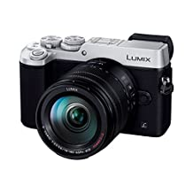 Panasonic Mirrorless SLR Lumix GX8 Lens Kit (20.3M Pixel) Silver/DMC-GX8H-S [International Version, No Warranty]