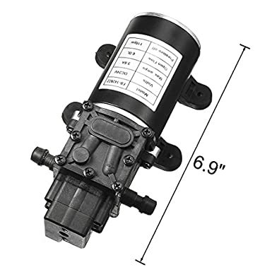 Amazon.com: Uxcell Bomba de Diafragma Presión de Agua DC ...