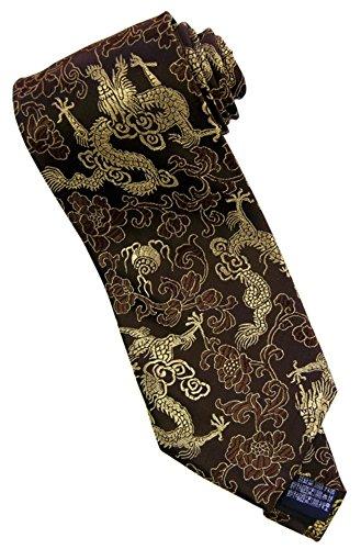 Amazing Grace Elephant Co. Dragon Power Tie (Chocolate Dragon) ()