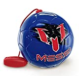 #9: Leo Messi Soccer Ball | Take Your Skills to the Next Level | Solo Youth Soccer Football Kick Throw Trainer with Adjustable Control Cord | Perfect for Kids Soccer Practice & Drills, Size 2