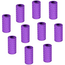 10-Pack HobbyPark Aluminum M3x10mm Standoff Spacer Female-Female Round Column for RC Quadcopter Parts Purple