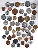 Moenich World Coin Grab Bag - 50 Coin Assortment