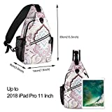 MOSISO Sling Backpack,Travel Hiking Daypack Pattern