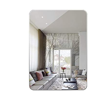 Specchio Bagno 80 X 70.Specchio Antiriflesso Hd Rettangolare Senza Cornice Per Bagno
