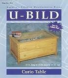 Display Coffee Table Plans U-Bild 854 Curio Table Project Plan