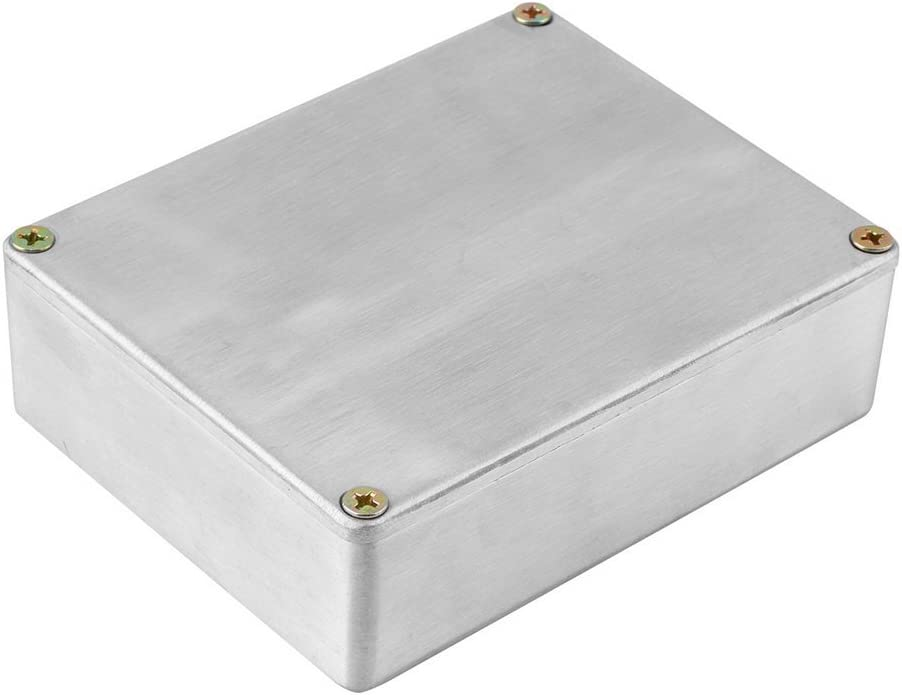 KinshopS New 1590BB Style Aluminum Stomp Box Effects Pedal Enclosure for Guitar
