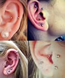 vcmart Tragus Cartilage Rook Earrings-Nose Rings