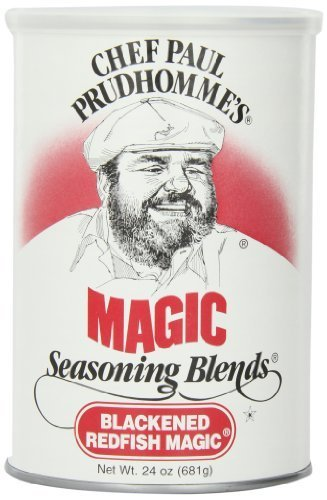 Chef Paul Blackened Redfish Magic Seasoning, 24-Ounce Canisters (Pack of 2) by Chef Paul [Foods]