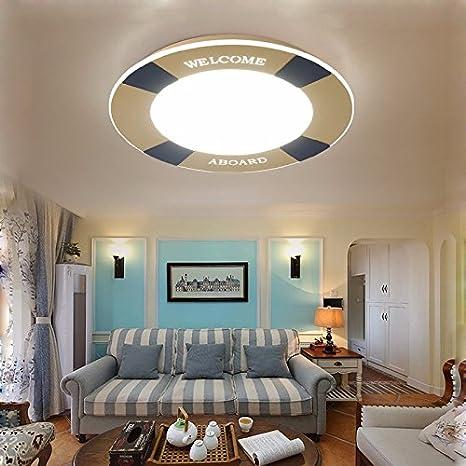 Led ceiling light round children\'s bedroom light children\'s ...