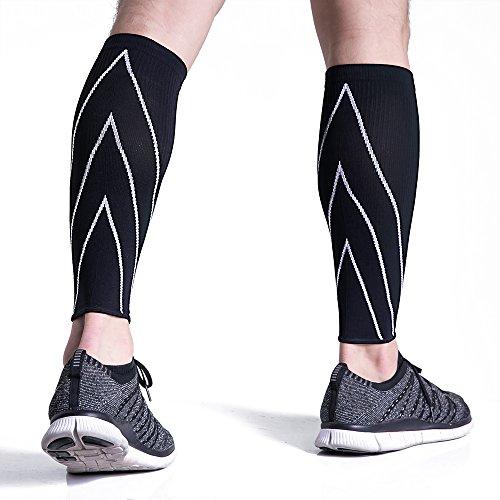 Amazon.com: Bracoo Calf Compression Sleeves, Maximized Athletic ...