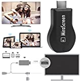 HDMI Streaming Media Player, DRUnKQUEEn® Wireless HDMI WiFi Display AnyCast Dongle Share Screen from All Smart Devices to TV, Monitor or Projector Supports DLNA Miracast AirPlay