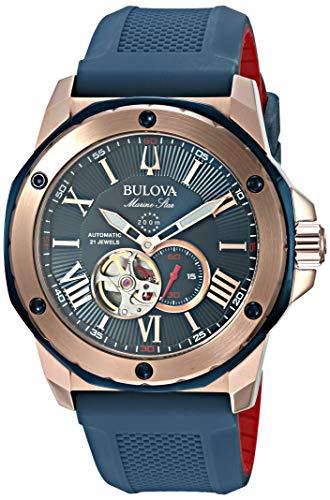 Bulova Men's Marine Star - 98A227 Rose Gold One ()