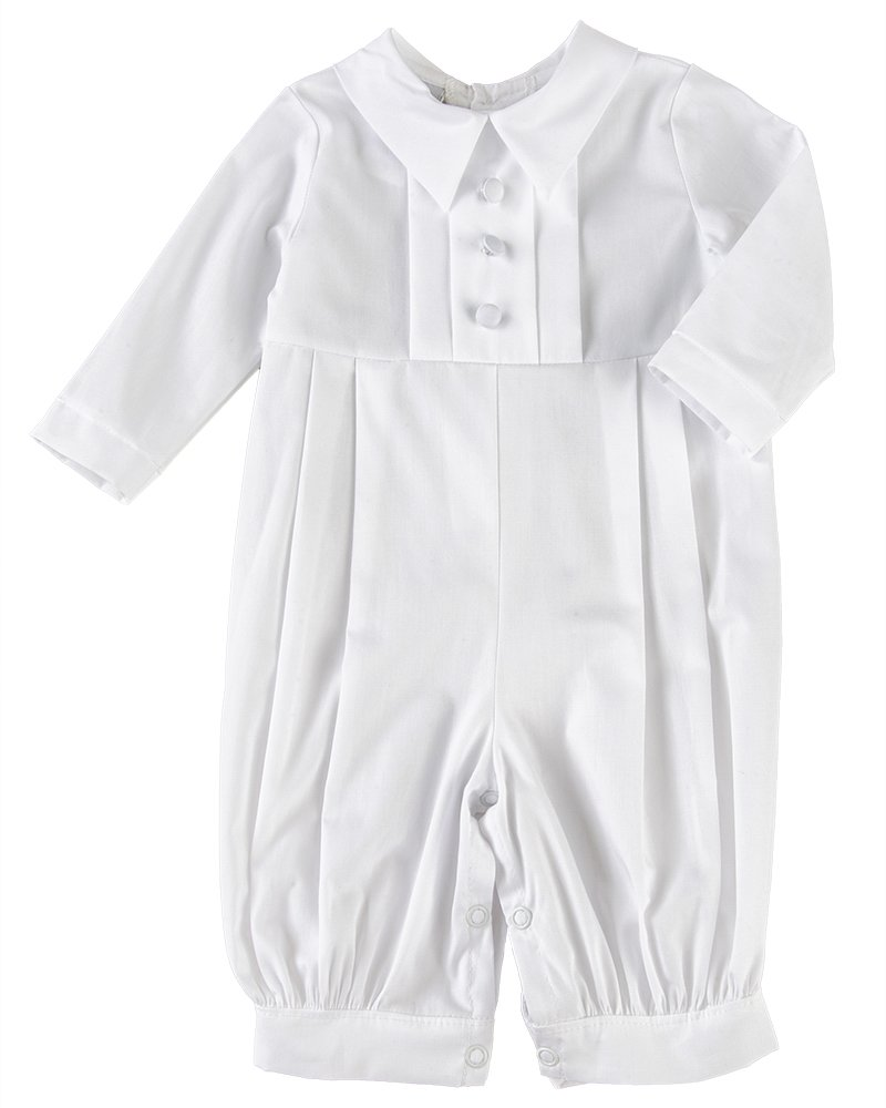 Michael 6 Month 100% Cotton Christening Baptism Blessing Outfit for Boys