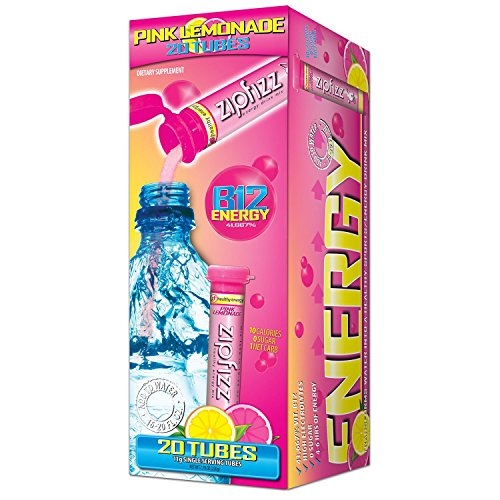 Zipfizz Energy/Sports Drink Mix - Pink Lemonade (2 pack) ()
