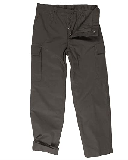 f826718e361 Combat Style Moleskin Thick Thermal Insulated Cold Weather Cargo Trousers  in Black  Amazon.co.uk  Clothing