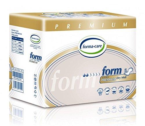 Formacare 1035 – PREMIUM Midi-Windel, Grau (25 Stück)