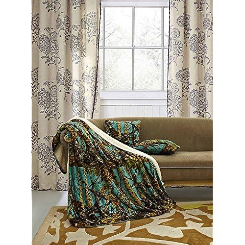 Teal Brown Velvet Throw Pillows Amazon Impressive Brown And Turquoise Decorative Pillows