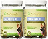 Pet Naturals of Vermont-Calming XL, Behavior Support for Large Dogs Bundled with Canine Health Record Report