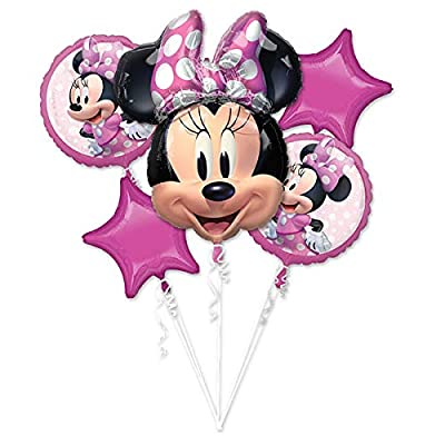 Anagram Minnie Mouse Forever Balloon Bouquet: Toys & Games