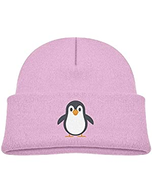 Kid's Beanie Cute Penguin Cuffed Knit Hat Skull Cap