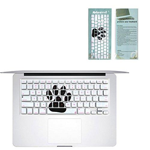 Masino Silicone Keyboard Cover Ultra Thin Keyboard Skin for MacBook Air 13