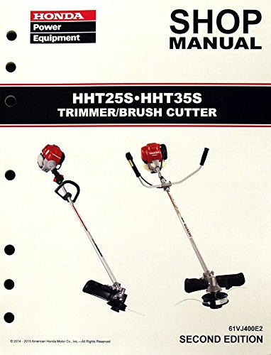 Honda HHT25S HHT35S Trimmer Service Repair Shop
