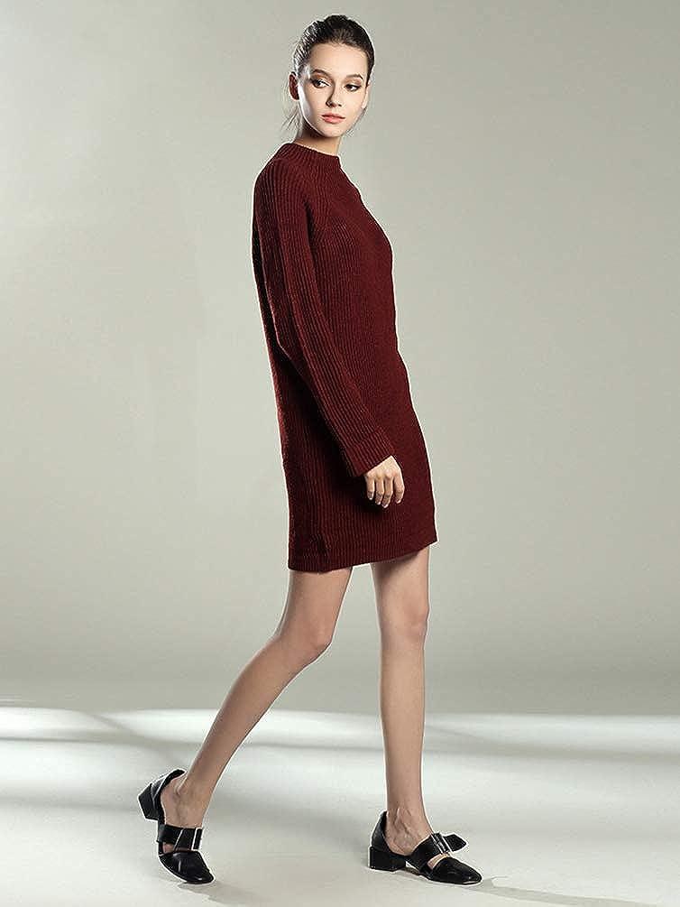 Maillees Oversize Pull Robe Automne En Hiver Mi Zhiyuanan Long Femme TclFK13J