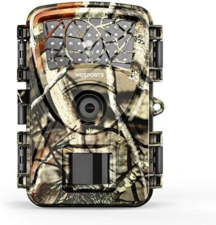 Trail Camera Hunting Game Camera, 2019 Upgraded Motion Activated Night Vision up to 65ft,1080P Full HD Waterproof Wildlife Scouting Monitoring Home Security Camera, 88D Trail Camera-Camo
