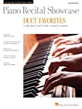 img - for Piano Recital Showcase-Duet Favorites-5 Original Duets For 1 Piano/4 Hands Intermediate (Hal Leonard Student Piano Library (Songbooks)) book / textbook / text book