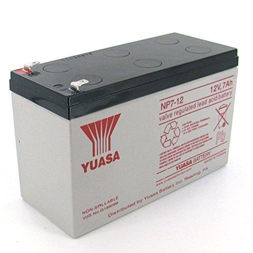 Yuasa Genesis NP7-12 12V/7Ah Sla Battery with F2 Terminal