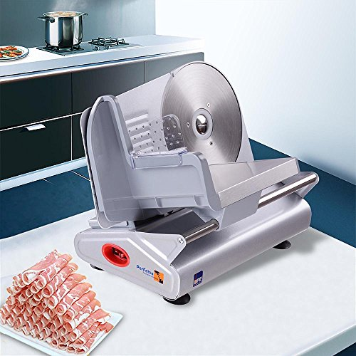ReaseJoy Electric Precision Food Slicer 19cm(7.5') Stainless Steel Blade...