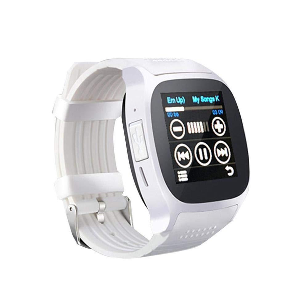QSJWLKJ Reloj Inteligente Inteligente Bluetooth Sport ...