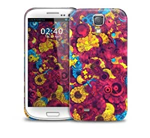 aqiloe diy Colourful Abstract Pink Pattern Samsung Galaxy S4 GS4 protective phone case