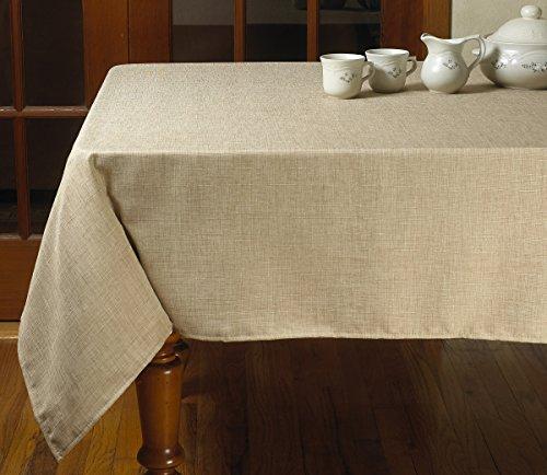 Dinner Oatmeal (Violet Linen Euro Vintage Design Tablecloth, 68