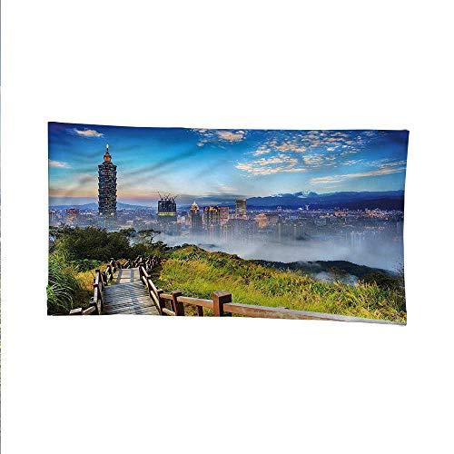 Scenerytapestrywall tapestryCity Cosmopolitan Life 84W x 54L Inch
