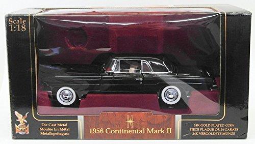 Lincoln Continental 1956 Mark - Road Signature 20078 1956 Lincoln Continental Mark 2 Burgundy 1/18 Diecast Model Car