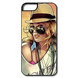 IPhone 5/5s Cases Beauty Woman Design Hard Back Cover Proctector Desgined By RRG2G