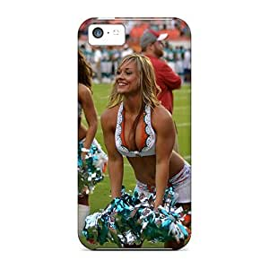 linJUN FENGDurable Defender Case For iphone 4/4s Tpu Cover(miami Dolphins Cheeerleaders Costume)