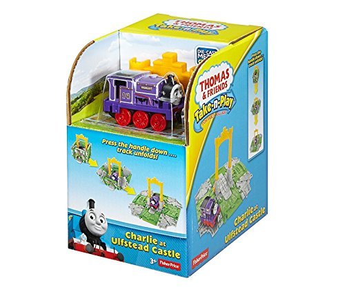 Fisher-Price Thomas & Friends Take-n-Play, Cube Stations Assortment (Thomas And Friends Marion)