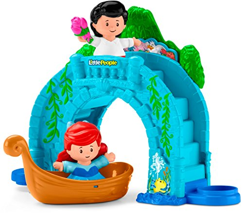 Fisher-Price Little People Disney Princess, Ariel Vehicle Playset (Little People Prince)
