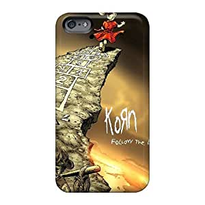 Customcases88 Apple Iphone 6 Plus Excellent Hard Cell-phone Case Support Personal Customs High Resolution Korn Pattern [ckH1373ydee]