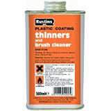 Rustins PCTH500 500ml Plastic Coating Thinners by Rustins