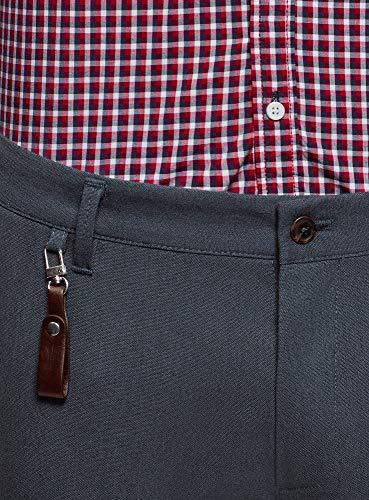 Ultra Oodji 7975o Homme Chino Bleu Pantalon Moulant Unn8qOvZ
