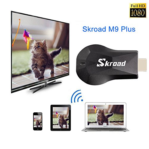 Wireless Dongle,Screen Mirror,1080P Mini Wireless Display Receiver HDMI TV Miracast DLNA Airplay for Projector/IOS/Android/Windows/Mac,Support Netflix by SKROAD (Image #3)