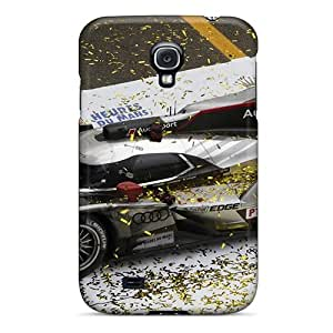 Hot SaqQLZr7359uKzTj Audi R18 Race Tpu Case Cover Compatible With Galaxy S4
