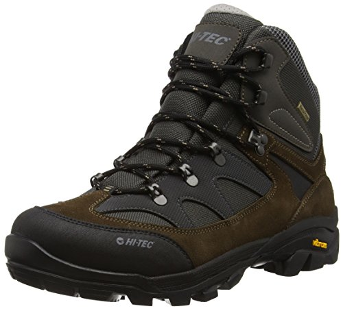 Hi-Tec Altitude Ultra I Wp - Botas de senderismo Hombre Marrón (Olive/charcoal/steel 061)