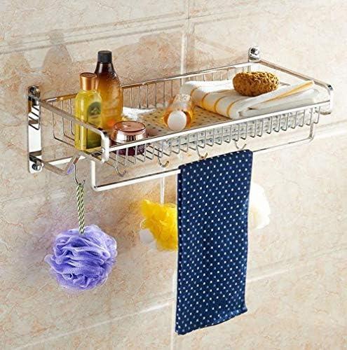 バスルームラックステンレス製タオルラックバスルーム用品をウォールマウント LCSHAN