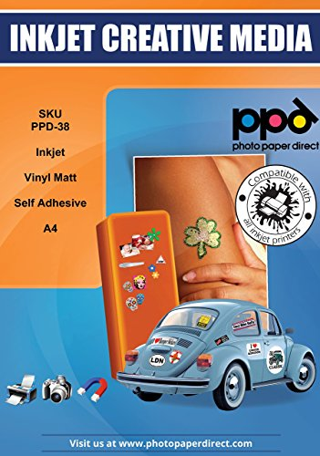 8 5x11 Inkjet Creative Stickers Sheets product image