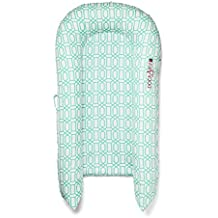 [Sponsored] DockATot Grand Dock (Minty Trellis) - Perfect for Cuddling, Lounging, Co Sleeping & Crib to Bed Transition - Breathable & Hypoallergenic - Lightweight for Easy Travel - Suitable from 9-36 months